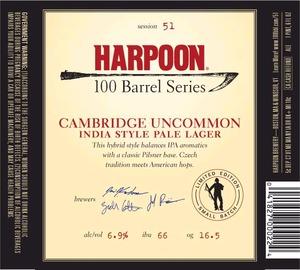 Harpoon Cambridge Uncommom