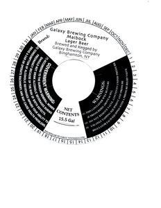 Galaxy Brewing Company Maibock