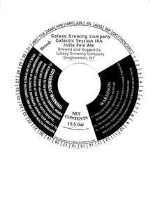 Galaxy Brewing Company Galactic Session IPA