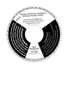 Galaxy Brewing Company Smoked Honey Stout