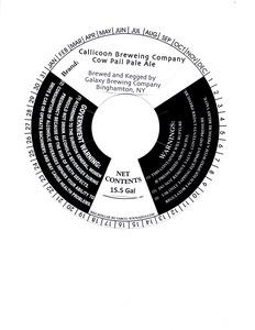 Callicoon Brewing Company Cow Pail Pale Ale