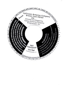 Callicoon Brewing Company Brown Cow Porter