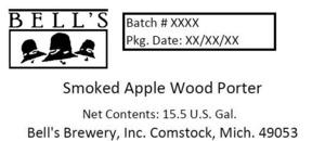 Bell's Smoked Apple Wood Porter