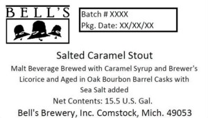 Bell's Salted Caramel Stout