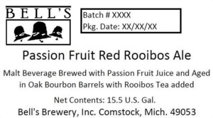 Bell's Passion Fruit Red Rooibos Ale