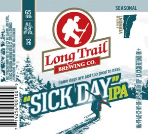 "Long Trail ""sick Day"" IPA"
