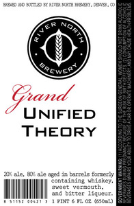 River North Brewery Grand Unified Theory