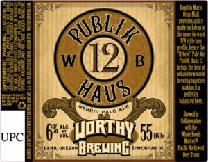 Worthy Brewing Publik Haus