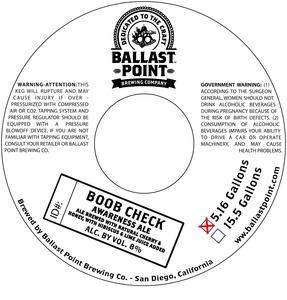 Ballast Point Boob Check