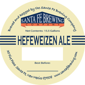 Santa Fe Brewing Co. Hefeweizen Ale