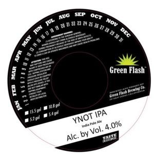 Green Flash Brewing Company Ynot IPA