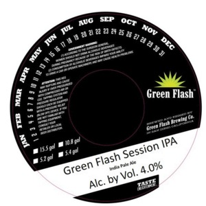 Green Flash Brewing Company Green Flash Session IPA