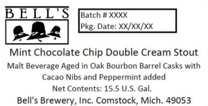 Bell's Mint Chocolate Chip Double Cream Stout