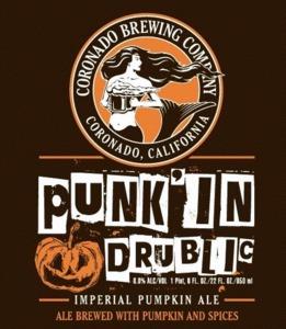 Coronado Brewing Company Punk'in Drublic