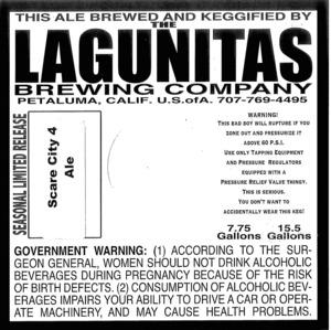 The Lagunitas Brewing Company Scare City 4