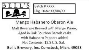 Bell's Mango Habanero Oberon Ale