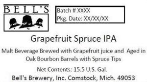 Bell's Grapefruit Spruce IPA