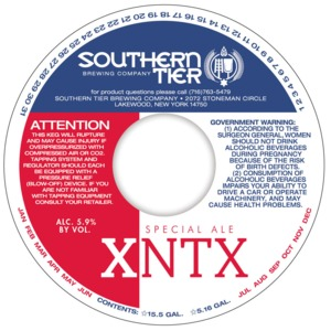 Southern Tier Brewing Company Xntx