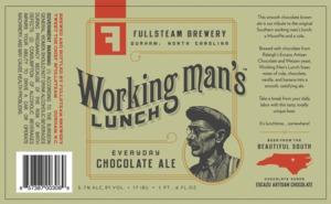Fullsteam Brewery Working Man's Lunch