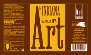 Art Cervesers Art La Indiana Catalan IPA