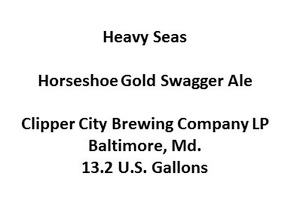 Heavy Seas Horseshoe Gold Swagger Ale