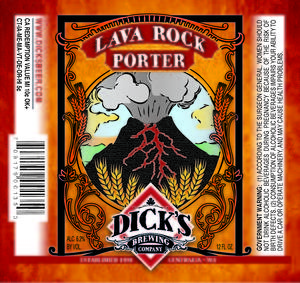 Dick's Lava Rock