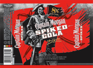 Captain Morgan Spiked Cola Bottle Can Beer Syndicate