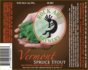 Rock Art Brewery Vermont Spruce Stout