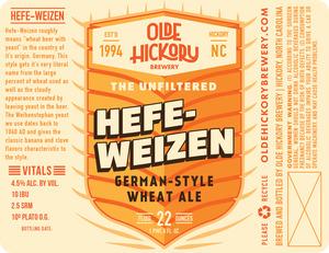 Brasserie Olde Hickory Hefe-weizen