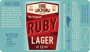 Olde Hickory Brewery Ruby