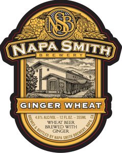 Napa Smith Brewery Ginger Wheat