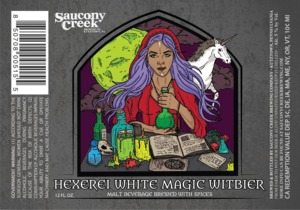 Saucony Creek Brewing Company Hexerei White Magic Witbier