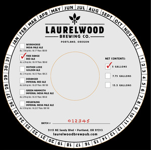 Laurelwood Brewing Co. Free Range Red