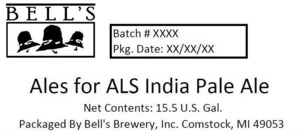 Bell's Ales For Als