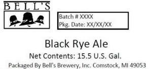 Bell's Black Rye