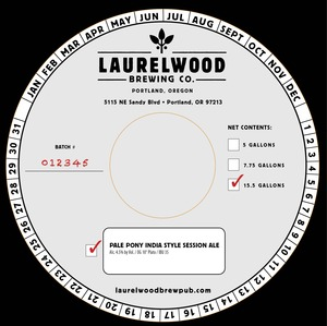 Laurelwood Brewing Co. Pale Pony
