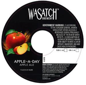 Wasatch Brewery Apple-a-day
