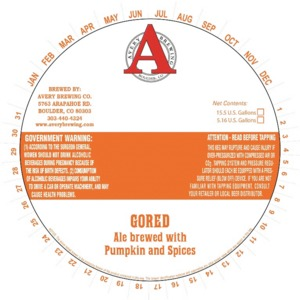 Avery Brewing Company Gored