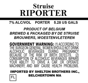 De Struise Brouwers Riporter July 2014