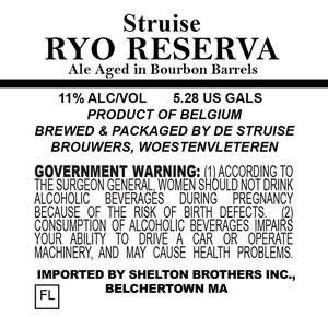 De Struise Brouwers Ryo Reserva