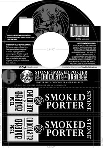Stone Brewing Co Stone Smoked Porter
