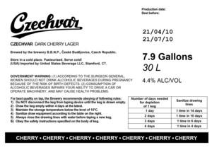 Czechvar Dark Cherry Lager