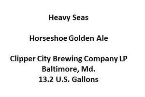 Heavy Seas Horseshoe Golden Ale