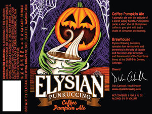 Elysian Brewing Company Punkuccino