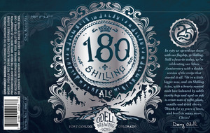 Odell Brewing Company 180 Shilling