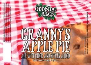 Odd Side Ales Granny's Apple Pie