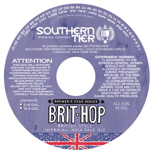 Southern Tier Brewing Company Brit Hop
