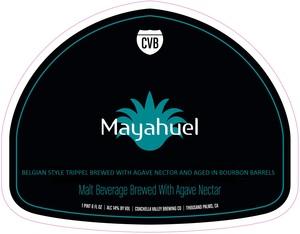 Coachella Valley Brewing Co Mayahuel
