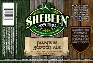 Shebeen Brewing Company Pumpkin Scotch Ale
