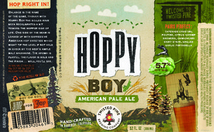 Twisted Pine Brewing Company Hoppy Boy